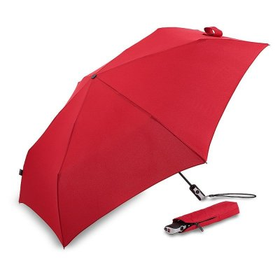 Umbrella - Knirps Flat Duomatic (red)