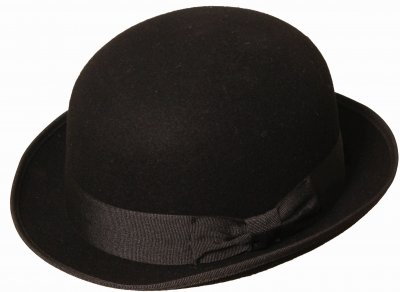 Hats - Gårda Aviano Bowler (black)