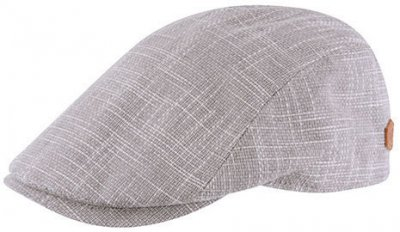 Flat cap - MJM Bang Cotton Mix (beige)