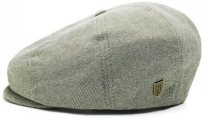 Flat cap - Brixton Brood (green-white)