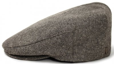 Flat cap - Brixton Hooligan (grey-white)