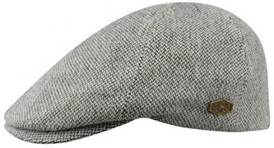 Flat cap - MJM Broker Eco Merino Wool (grey)