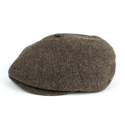 Flat cap - Brixton Brood (brown-khaki)