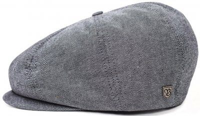 Flat cap - Brixton Brood (lightblue stripe)