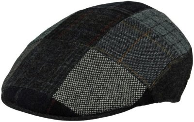 Flat cap - MJM Country Patchwork (grey mix)