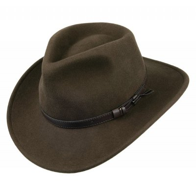 Hats - Crushable Outback (olive)