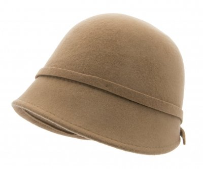 Hats - CTH Ericson Analise Cloche (camel)