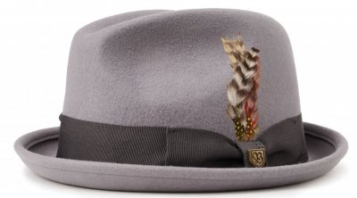 Hats - Brixton Gain (light grey/charcoal)