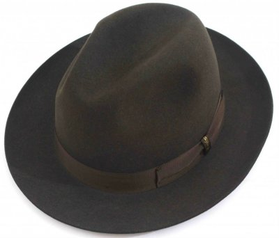 Hats - Borsalino Marengo Wide Brim Fedora (green)