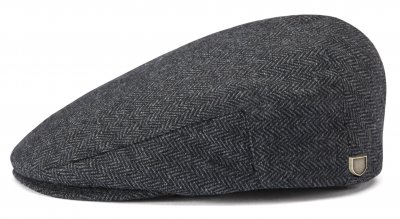 Flat cap - Brixton Hooligan (grey-black)