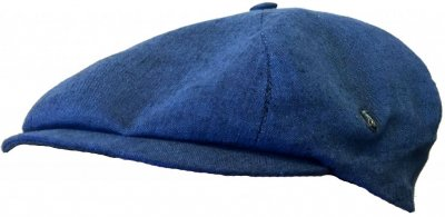 Flat cap - City Sport Caps Arlon (blue)