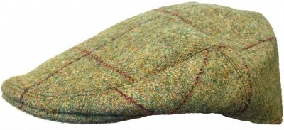Flat cap - Lawrence and Foster County (green tweed)