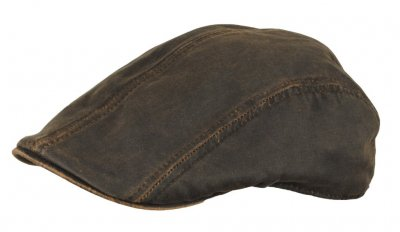 Flat cap - MJM Jacky (brown)