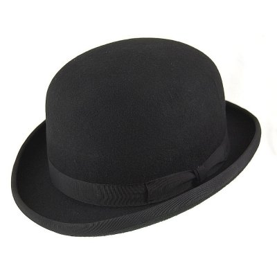 Hats - English Bowler Hat (black)