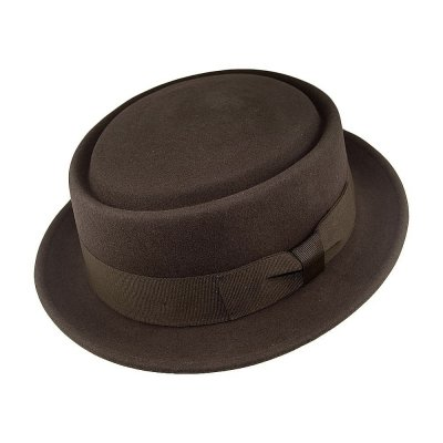 Hats - Crushable Pork Pie (brown)