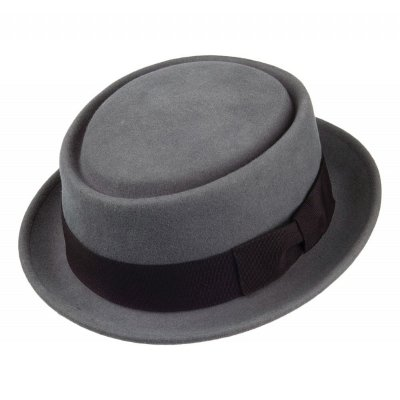 Hats - Crushable Pork Pie (grey)