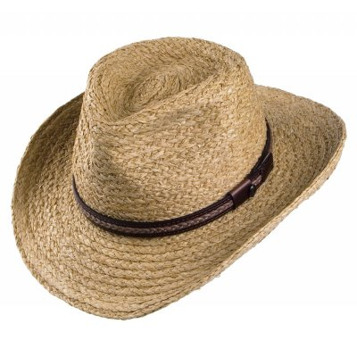 Hats - El Paso Straw Outback (natural)