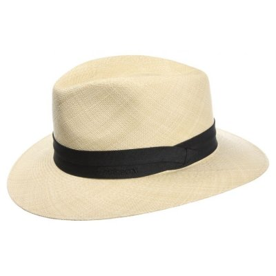 Hats - Stetson Jefferson Panama (natural)