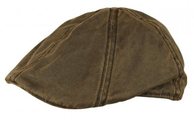 Flat cap - MJM Jones (brown)