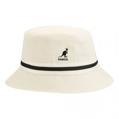 Hats - Kangol Stripe Lahinch (white)