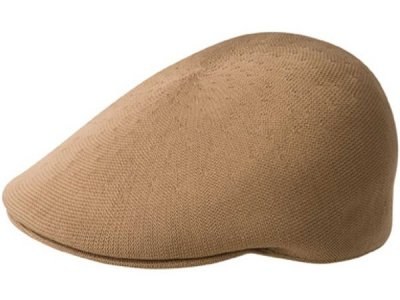 Flat cap - Kangol Recycled Tropic 507 (light brown)