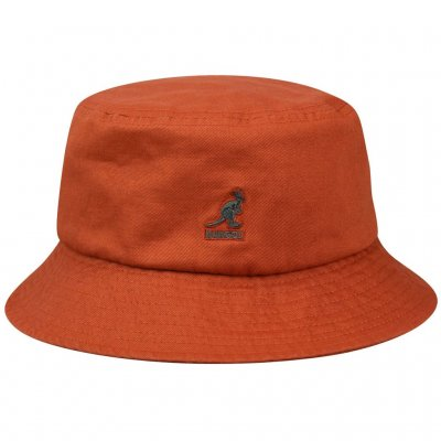 Hats - Kangol Washed Bucket (clay)