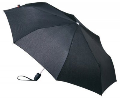 Umbrella - Knirps Fiber T2 Duomatic (black)