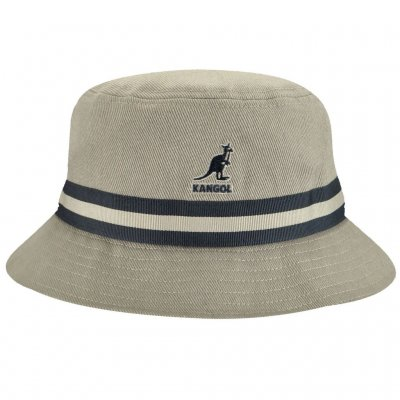 Hats - Kangol Stripe Lahinch (grey)