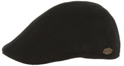 Flat cap - MJM Maddy EL Wool Mix (black)