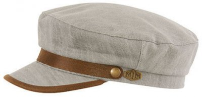 Fiddler cap - MJM Marines Cotton (grey)