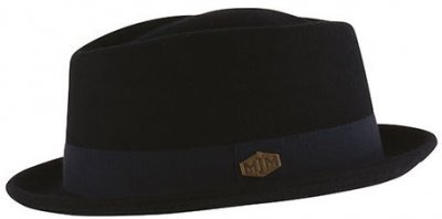 Hats - MJM Mike Pork Pie (navy)