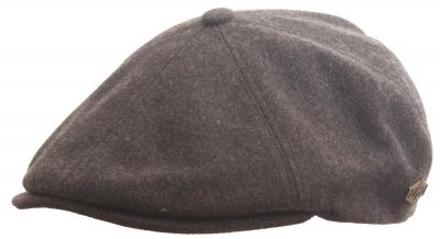 Flat cap - MJM Rebel Wool/Cashmere (grey)