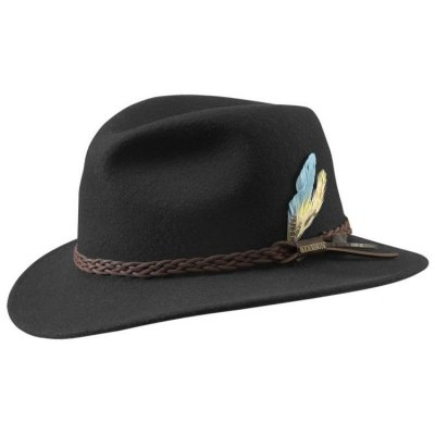 Hats - Stetson Newark (black)