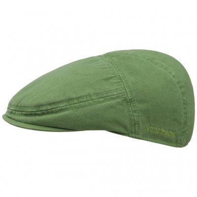 Flat cap - Stetson Paradise Cotton (green)