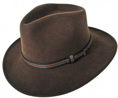 Hats - Faustmann Sarconi C-Crown (brown)