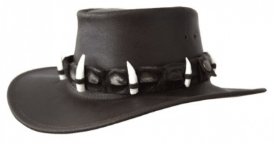 Hats - Jacaru Dundee Croc 9 Croc Teeth (brown)