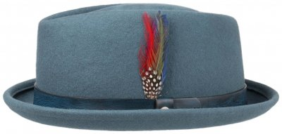 Hats - Stetson Salem Diamond Crown (light blue)