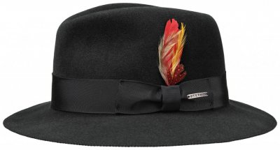 Hats - Stetson Rowley (black)