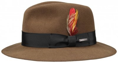 Hats - Stetson Rowley (brown)