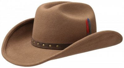 Hats - Stetson Batson (brown)