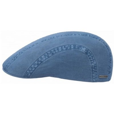 Flat cap - Stetson Madison Cotton (blue)