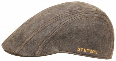 Flat cap - Stetson Madison Old Cap Winter (brown)
