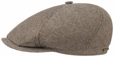 Flat cap - Stetson Brooklin Cotton/Linen (brown)