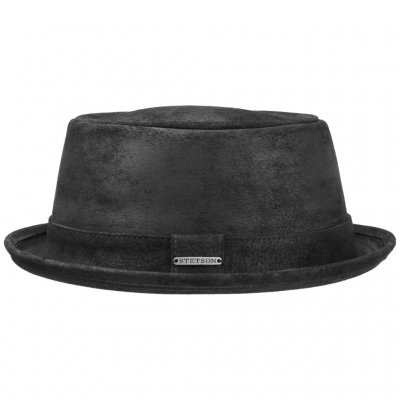 Hats - Stetson Hobbs Leather (black)