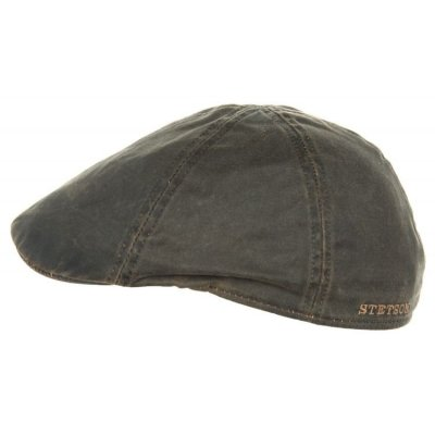 Flat cap - Stetson Level (brown)