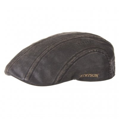 Flat cap - Stetson Madison Old Flat Cap (brown)