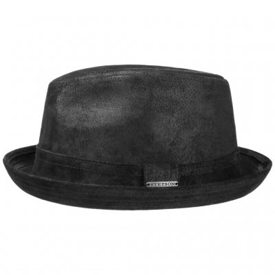 Hats - Stetson Radcliff Leather (black)