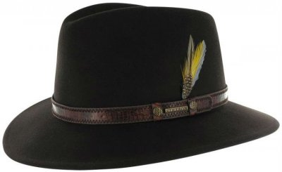 Hats - Stetson Sells (dark brown)