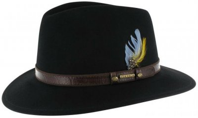 Hats - Stetson Sells (black)