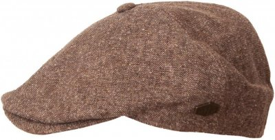 Flat cap - MJM Rebel Silk Mix (brown)